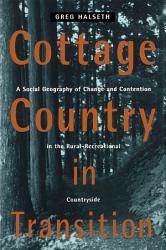 Cottage Country In Transition Book PDF