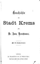 Geschichte der Stadt Krems
