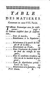 L'ami des hommes, ou Traité de la population: Volume6