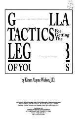 Guerrilla Tactics For Getting The Legal Job Of Your Dreams