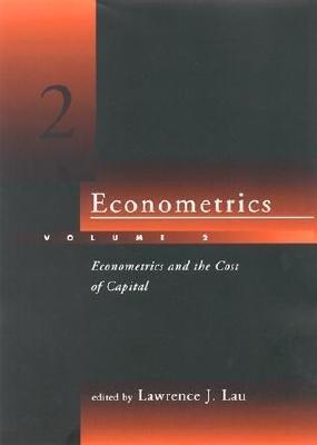 Econometrics  Econometrics and the cost of capital   essays in honor of Dale W  Jorgenson PDF