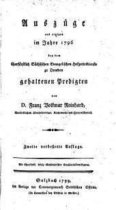Predigten im Jahr ... bey dem Churfürstl. Sächsischen Evangelischen Hofgottesdienste zu Dresden gehalten: 1796,[2]