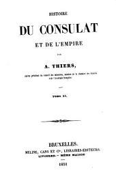 Histoire du consulat et de l'empire: Volume11