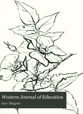 Western Journal of Education: Volume 3