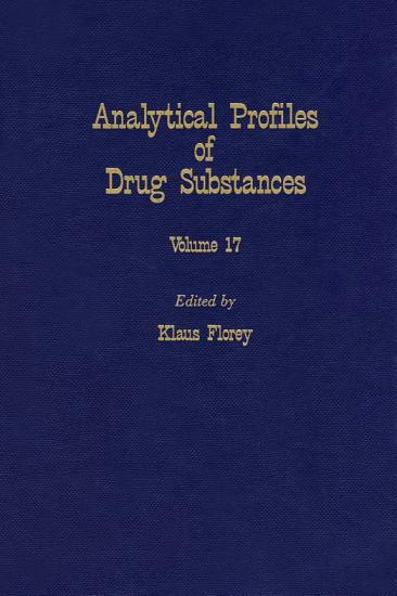 Analytical Profiles of Drug Substances PDF