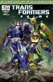 Transformers: Prime - Rage of the Dinobots #3