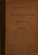 Download State Library Bulletin Book