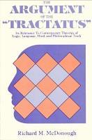 The Argument of the Tractatus PDF