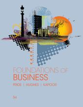 Foundations of Business: Edition 5