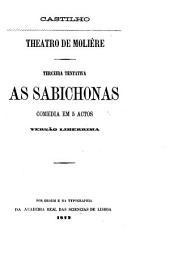 As sabichonas: comédia en 5 actos : versão libérrima
