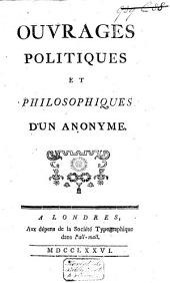 Ouvrages politiques et philosophiques