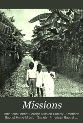 Missions: An International Baptist Magazine, Volume 6
