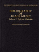 Bibliography of Black Music  Reference materials PDF