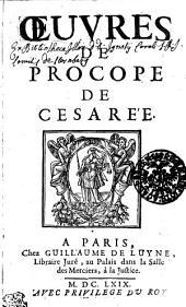 Oeuvres de Procope de Cesarée