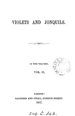 Violets and jonquils  by T H  Wilkins   PDF