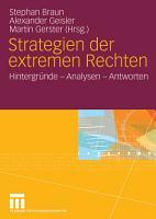 Strategien der extremen Rechten PDF