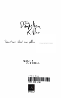 The Dandelion Killer PDF