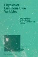 Physics of Luminous Blue Variables