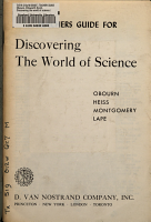 Discovering the World of Science PDF