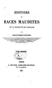 Histoire des races maudites de la France et de l'Espagne: Volumes1à2