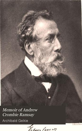 Memoir of Sir Andrew Crombie Ramsay PDF