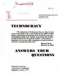 The North American Technocrat PDF