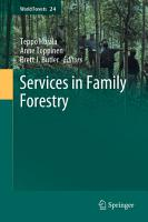 Services in Family Forestry PDF