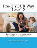 Pre-K YOUR Way Level 2 (Black and White Version)