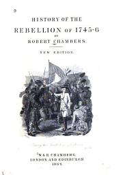 History of the Rebellion of 1745-6