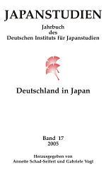 Japanstudien. Band 17/2005