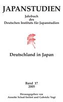 Japanstudien  Band 17 2005 PDF