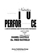 Dynamic Nutrition for Maximum Performance