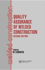 Quality Assurance of Welded Construction