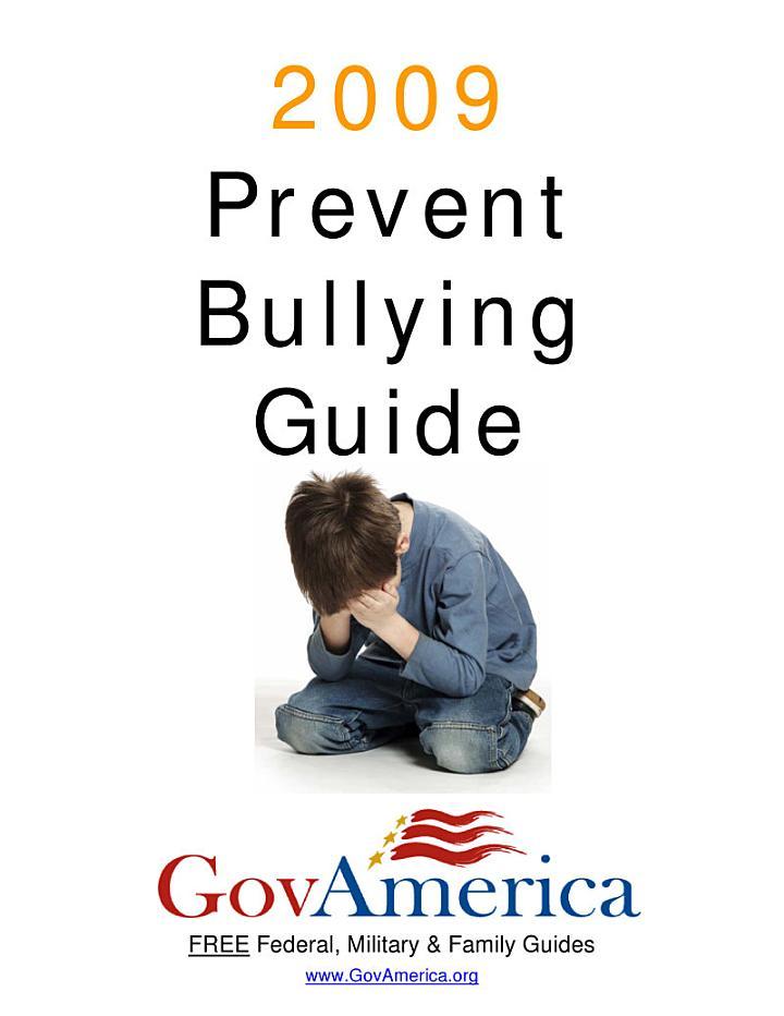 Prevent Bullying Guide