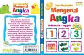 Seri Aku Cerdas Mengenal Angka Indonesia-Inggris