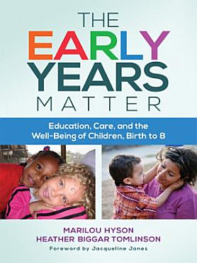 The Early Years Matter PDF