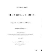 Contributions to the natural history of the United States of America: Volume 3