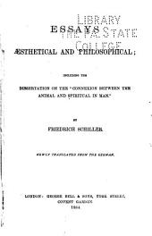 Essays, Æsthetical and Philosophical