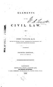 Elements of the Civil Law