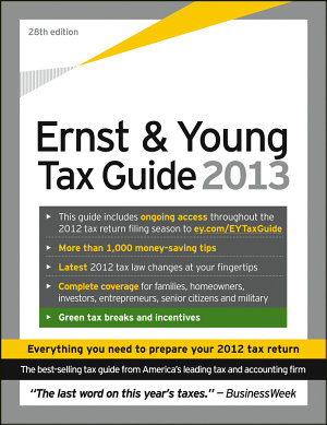 Ernst   Young Tax Guide 2013 PDF