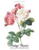 Download Vintage Flowers Coloring Book Book