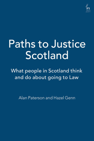 Paths to Justice Scotland