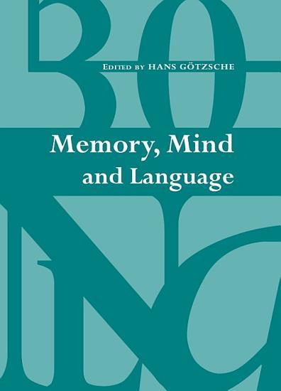 Memory  Mind and Language PDF