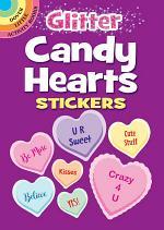 Glitter Candy Heart Stickers