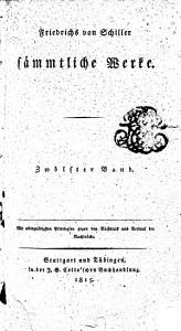 Friedrich von Schillers s  mtliche Werke PDF