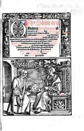 Gaj Plinij des andern lobsagung zu zeitten er zu Rome das consulat ampte eingetreten: hat ... vom heyligen Kayser Traiano ... gantz zierlichen vn̄ wolgespräch: aussgesagt ... Durch herra Dietrichen von Pleningen ... getheutscht. MS. notes