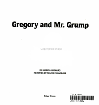 Gregory and Mr  Grump