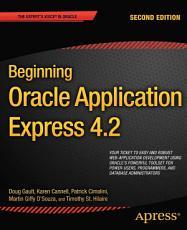 Beginning Oracle Application Express 4 2 PDF
