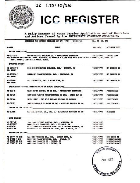 Download ICC Register Book