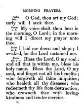 Short prayers in Scripture language, with suitable encouragements from the same source [compiled by A. Maurice].